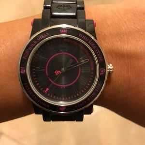 Black and Pink Juicy Watch